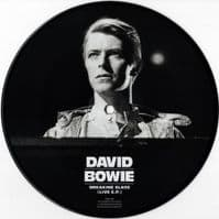 DAVID BOWIE Breaking Glass EP Vinyl Record 7 Inch Parlophone 2018 Picture Disc